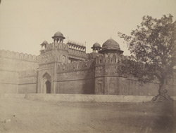 Delhi Gate of the Red Fort, Delhi.